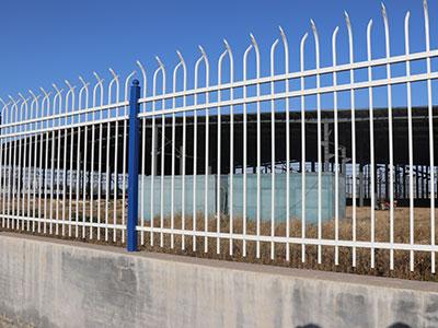 防爬锌钢护栏